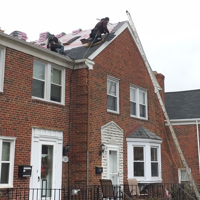 Free Roof Replacement Quote In Owings Mills Badger